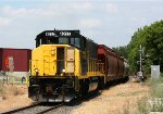 WAMX 4017 leads Grand Elk 120 back to Hugart yard